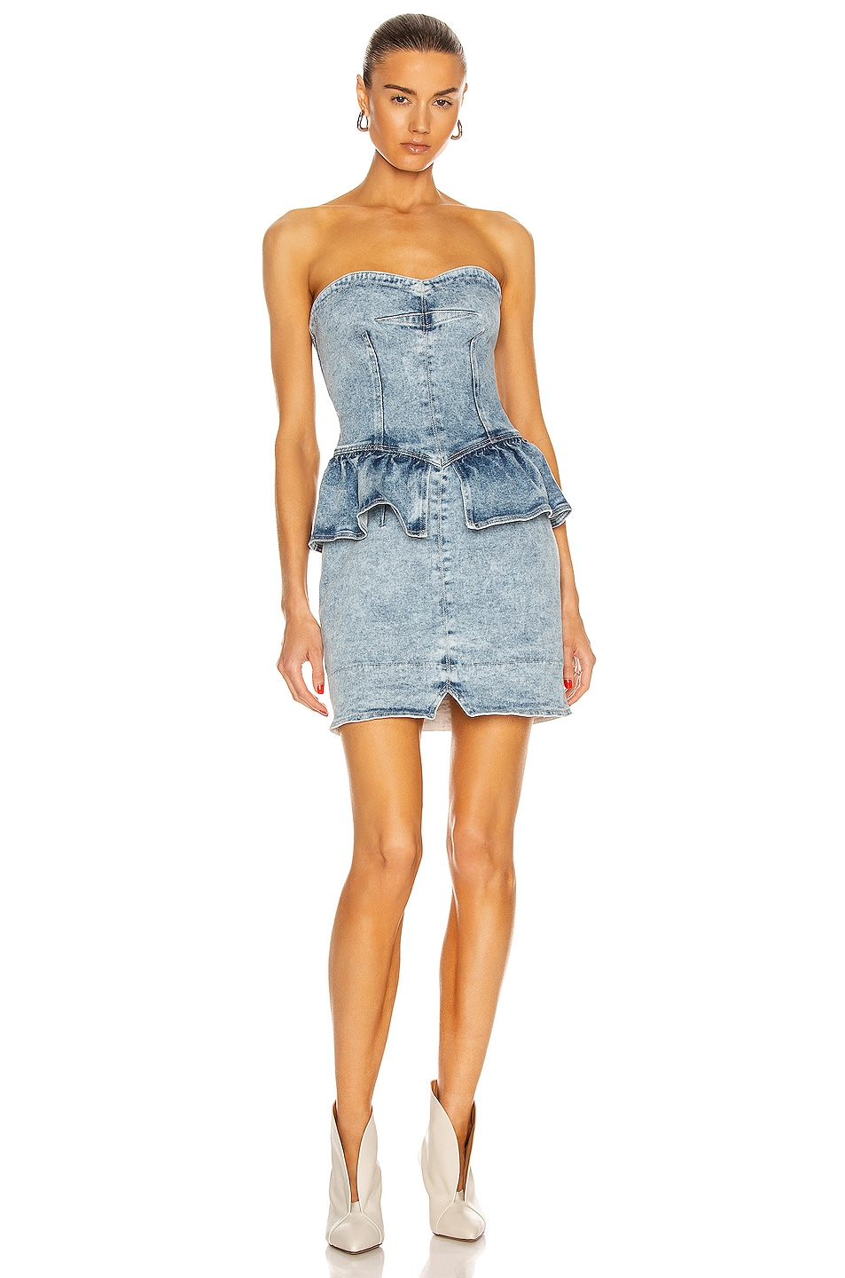 Image 1 of Isabel Marant Dolizi Dress in Light Blue