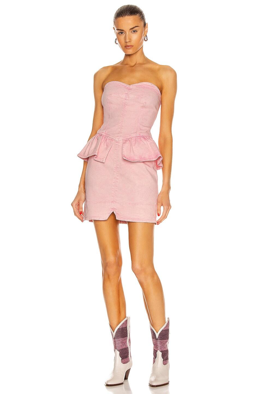 Image 1 of Isabel Marant Dolizi Dress in Light Pink