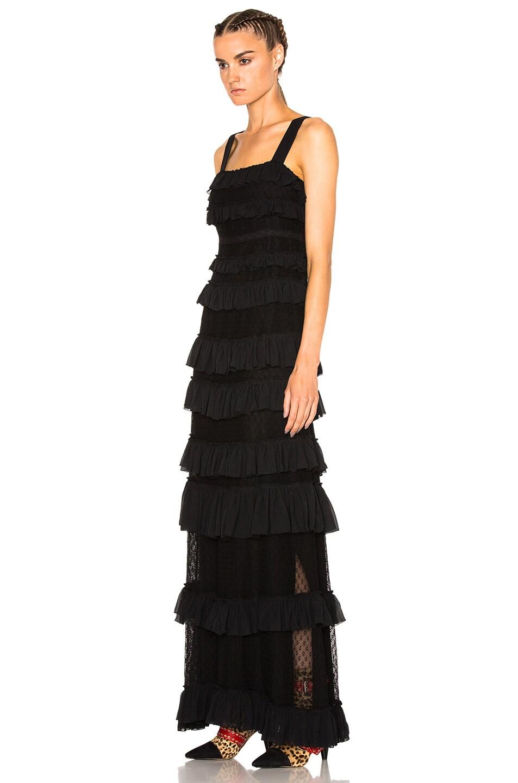 Image 2 of Isabel Marant Easy Evening Tuline Dress in Black