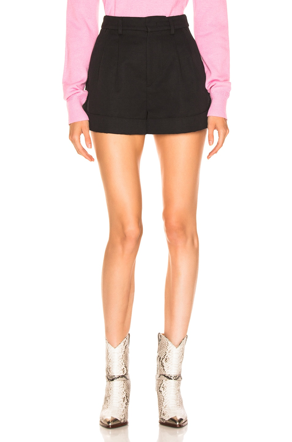 Image 1 of Isabel Marant Kab Short in Faded Black
