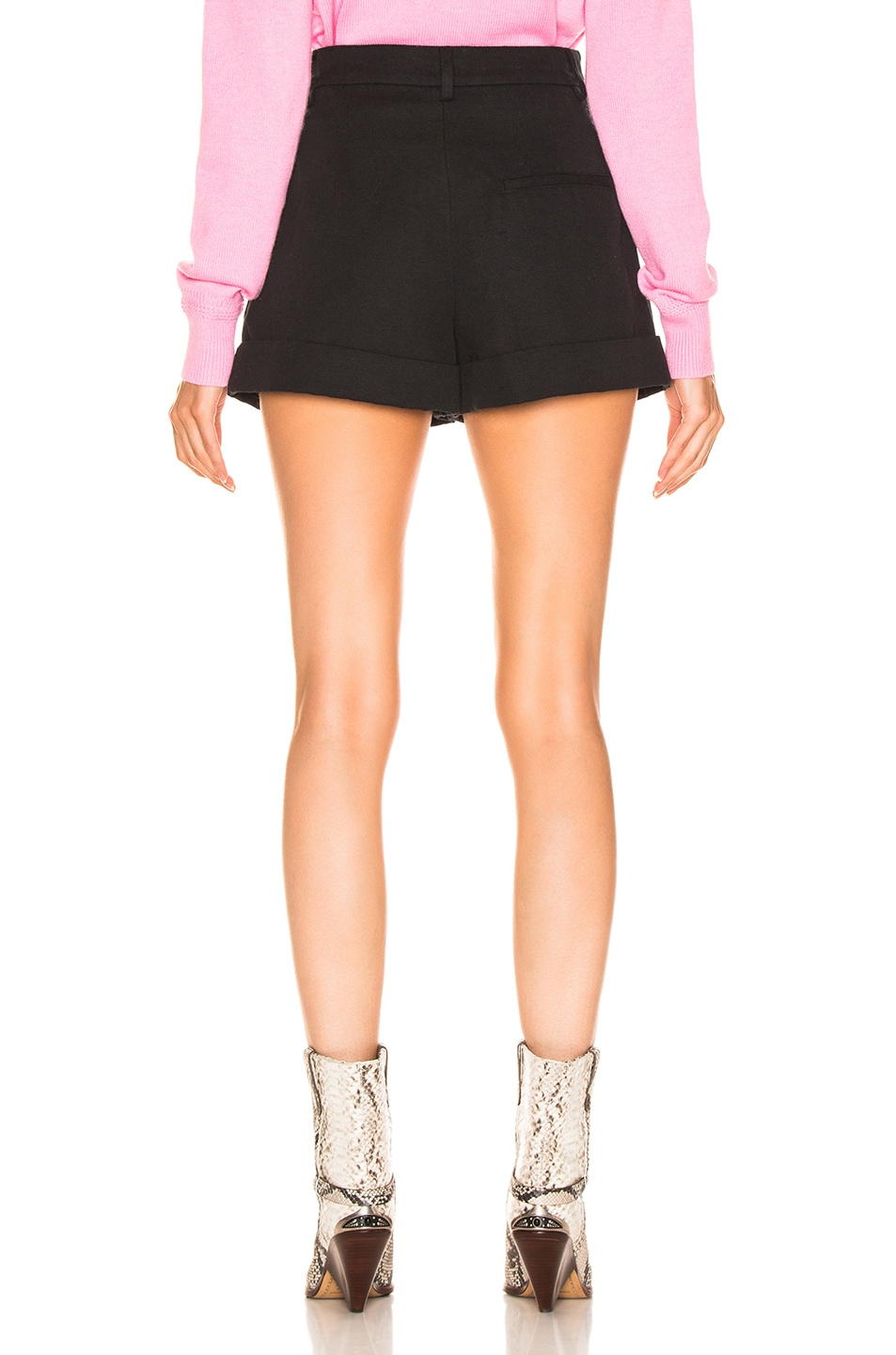 Image 3 of Isabel Marant Kab Short in Faded Black
