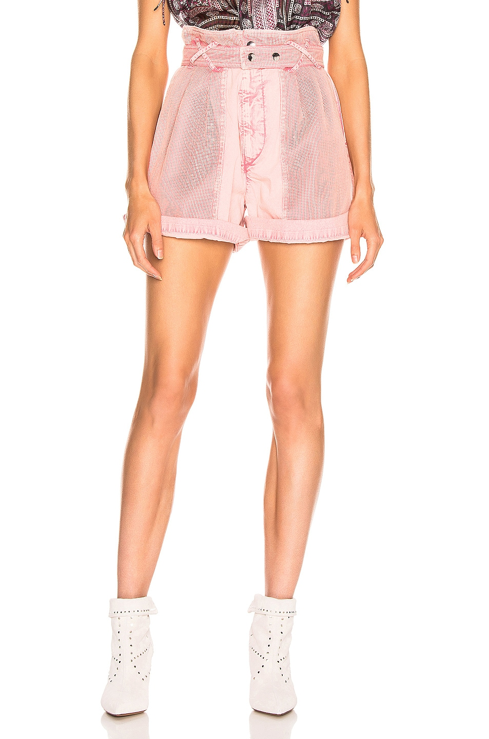 Image 1 of Isabel Marant Twen Short in Light Pink