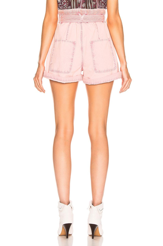Image 3 of Isabel Marant Twen Short in Light Pink