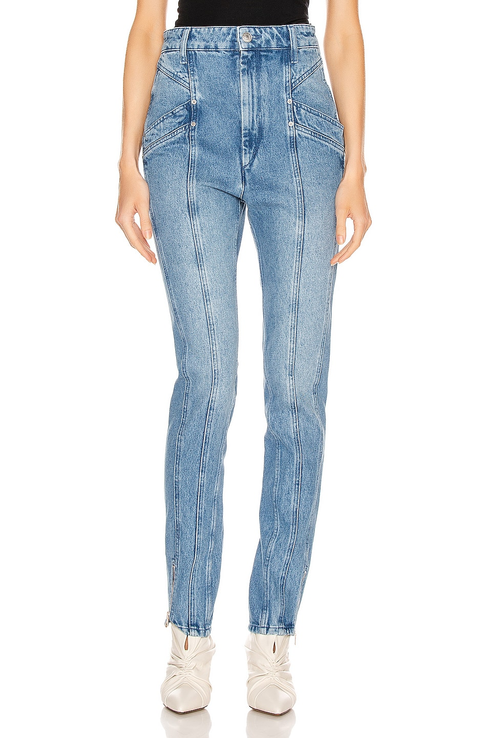 Image 1 of Isabel Marant Kelissa Pant in Light Blue