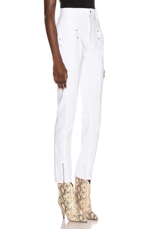 Image 2 of Isabel Marant Kelissa Pant in White