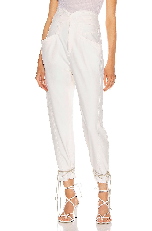 Image 1 of Isabel Marant Nubaia Jean in White