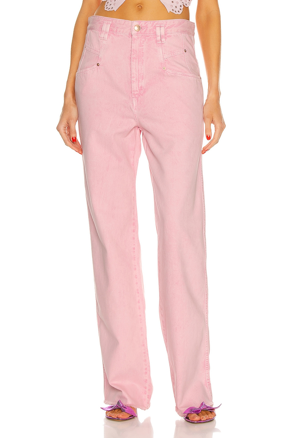 Image 1 of Isabel Marant Dilesqui Pant in Light Pink