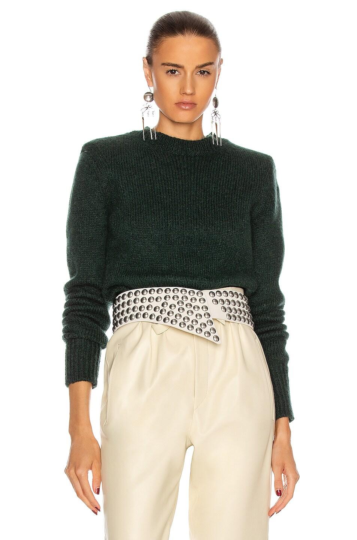 Image 1 of Isabel Marant Erwany Sweater in Dark Green