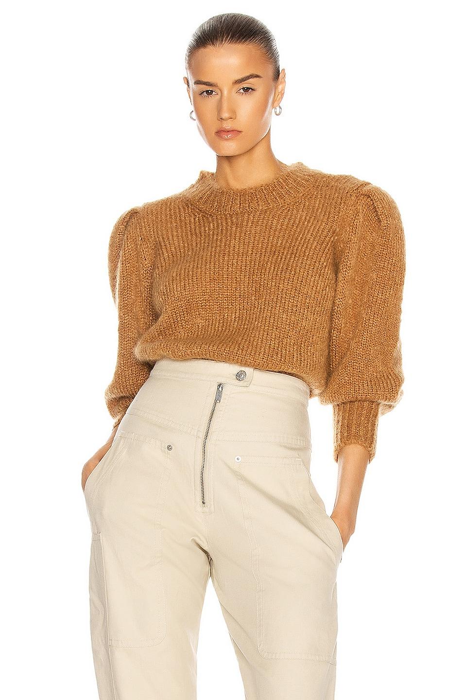 Image 1 of Isabel Marant Emma Sweater in Camel