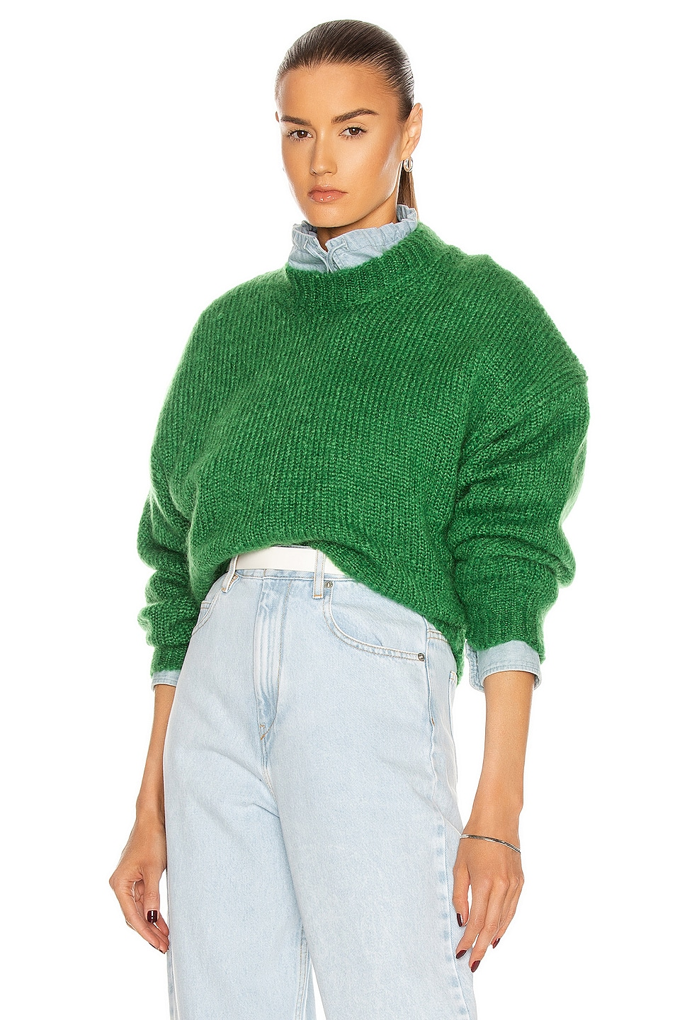 Image 1 of Isabel Marant Elise Sweater in Green