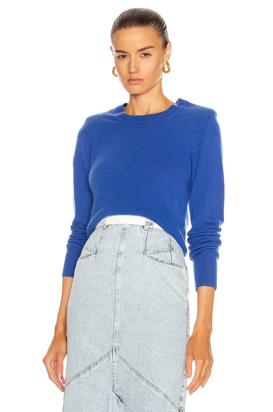Image 1 of Isabel Marant Alexa Sweater in Electric Blue