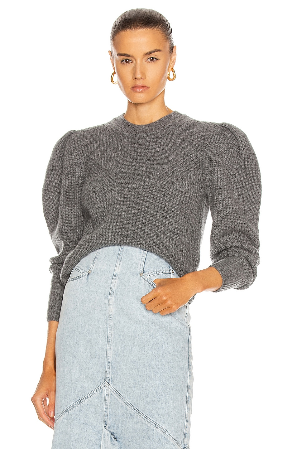 Image 1 of Isabel Marant Robin Sweater in Grey