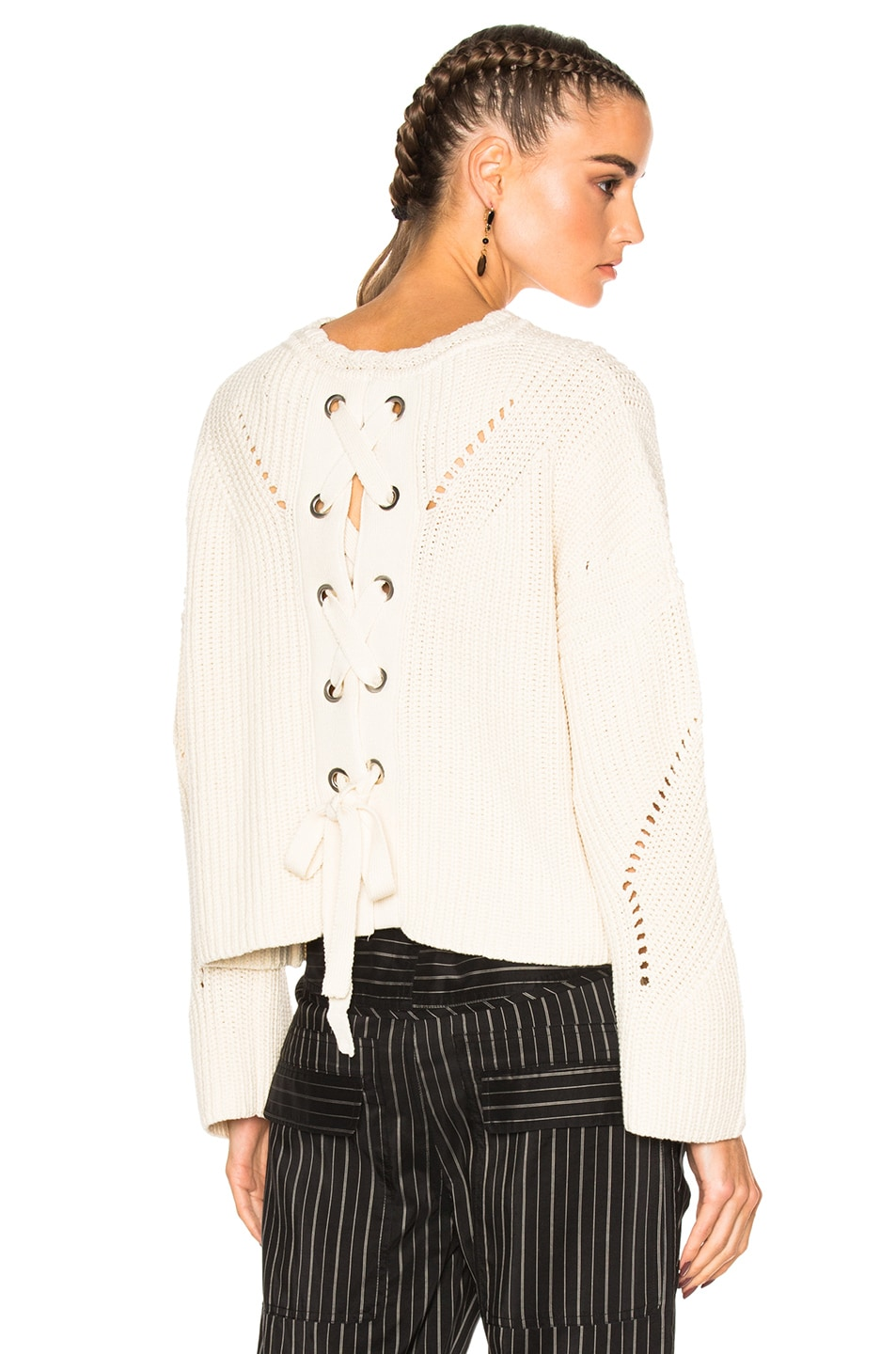 Image 1 of Isabel Marant Grifin Sweater in Ecru