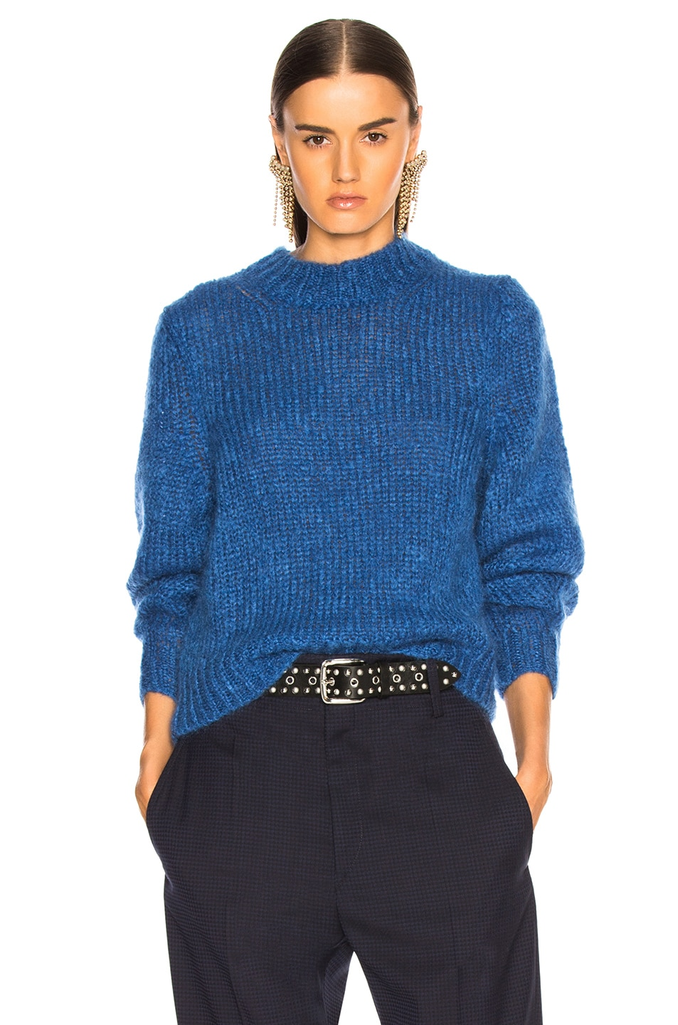 Image 1 of Isabel Marant Ivah Sweater in Blue