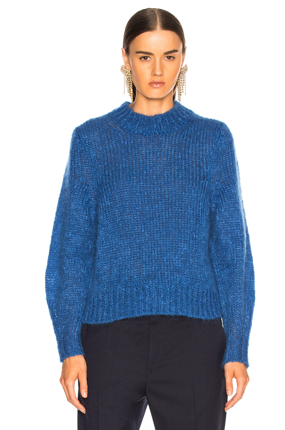 Image 2 of Isabel Marant Ivah Sweater in Blue
