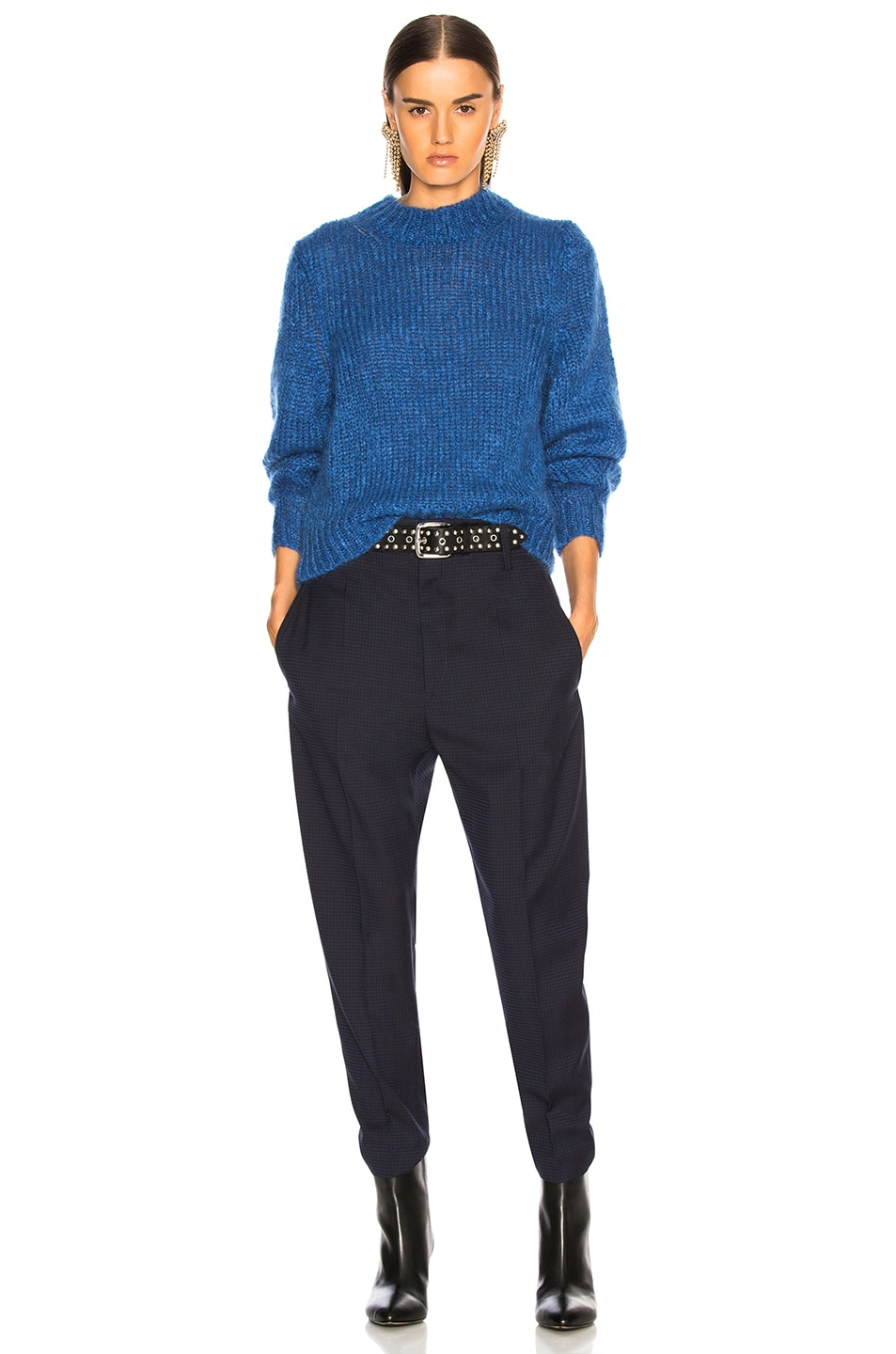 Image 5 of Isabel Marant Ivah Sweater in Blue