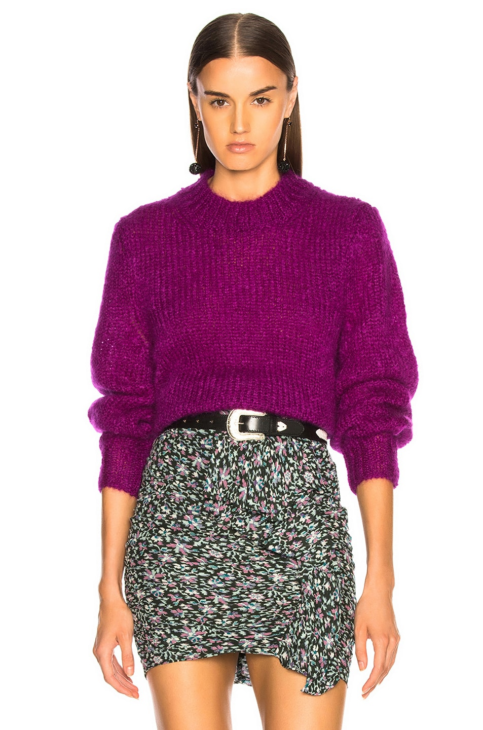 Image 1 of Isabel Marant Ivah Sweater in Purple