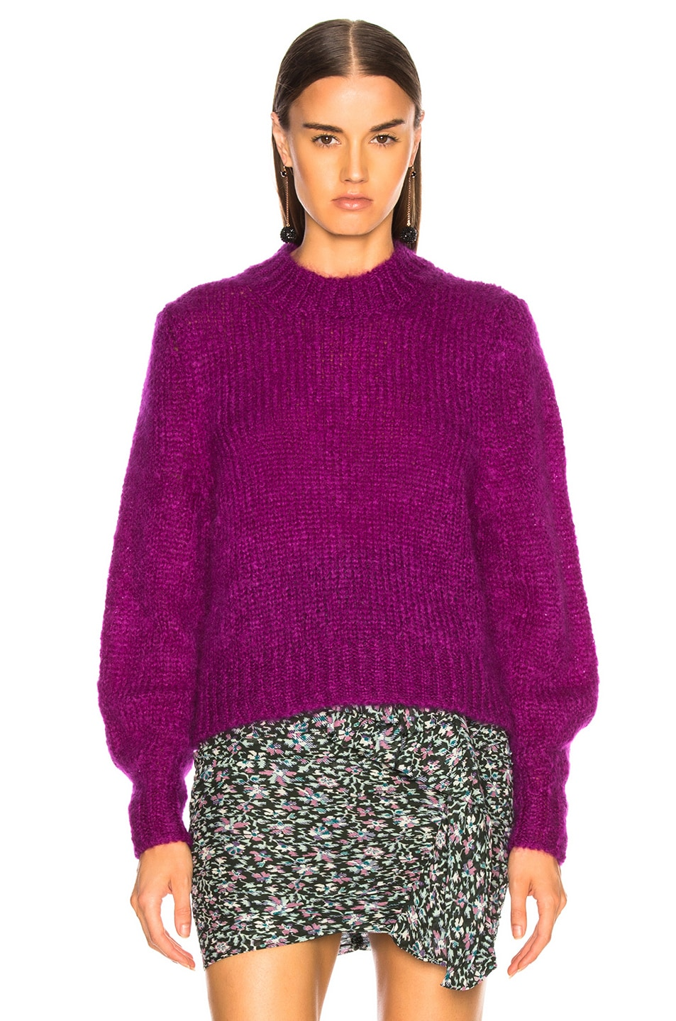 Image 2 of Isabel Marant Ivah Sweater in Purple