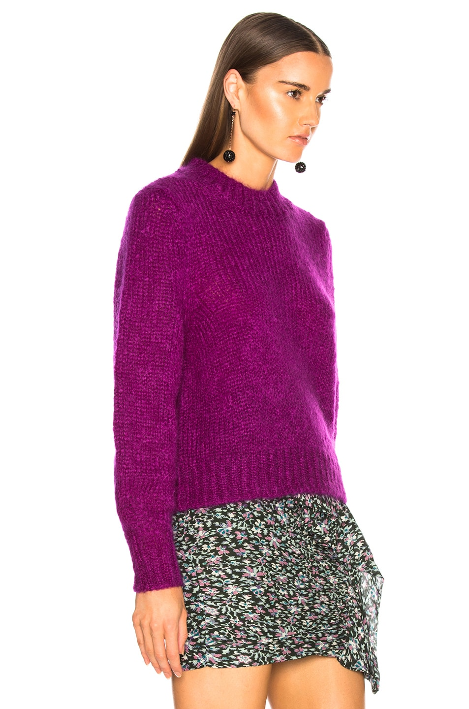 Image 3 of Isabel Marant Ivah Sweater in Purple