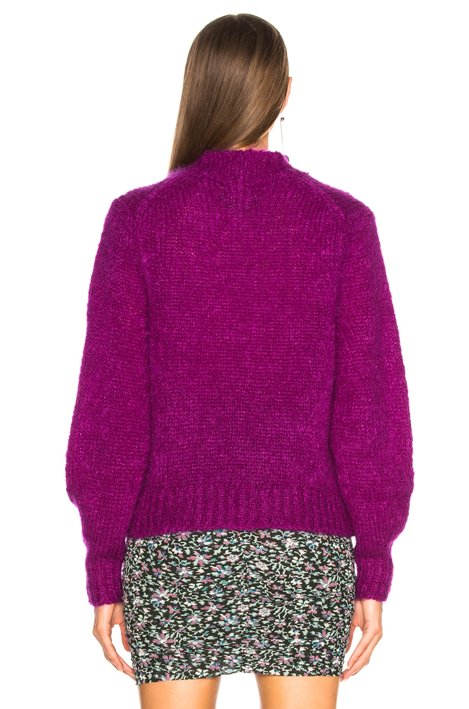 Image 4 of Isabel Marant Ivah Sweater in Purple
