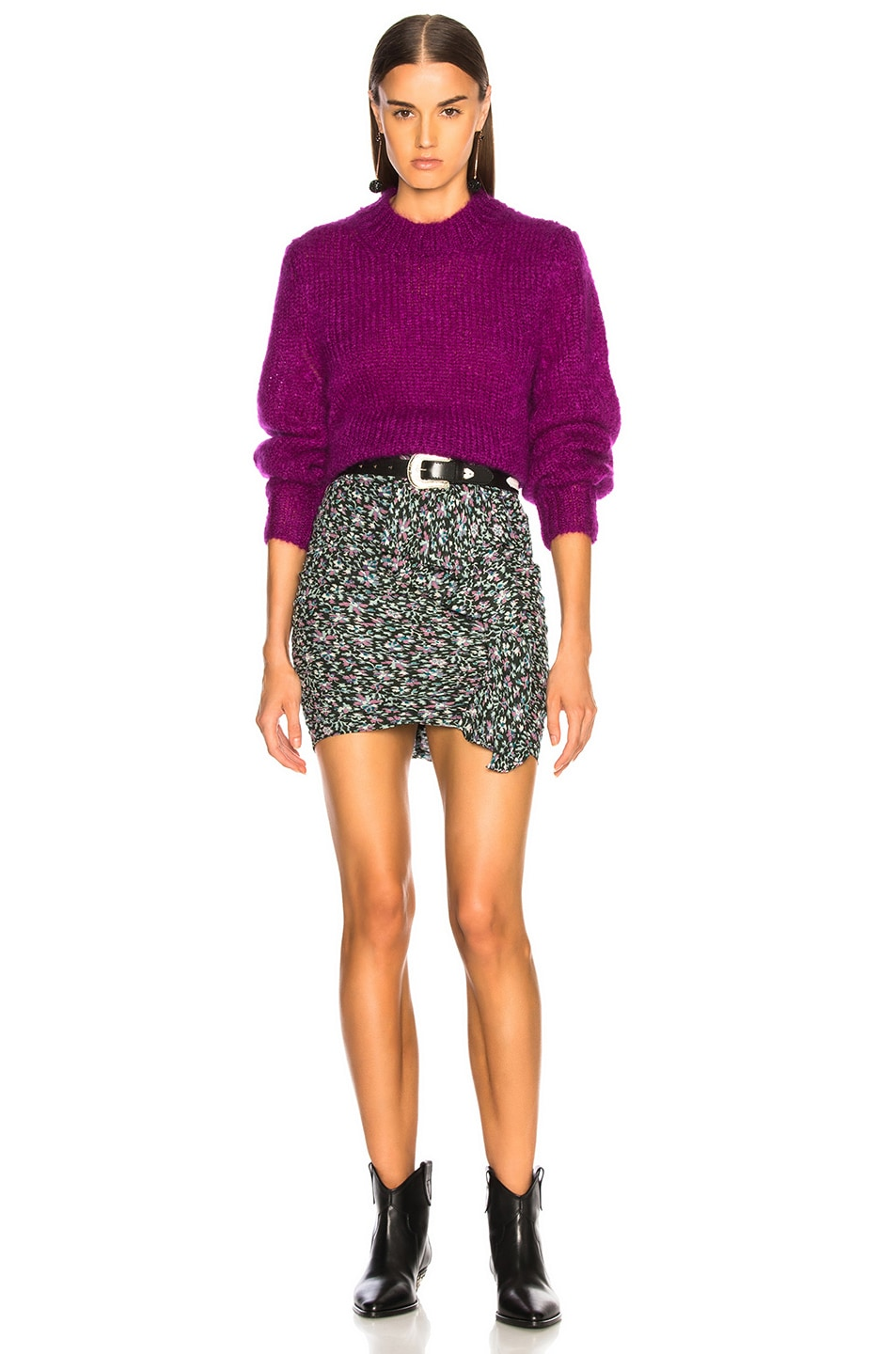 Image 5 of Isabel Marant Ivah Sweater in Purple