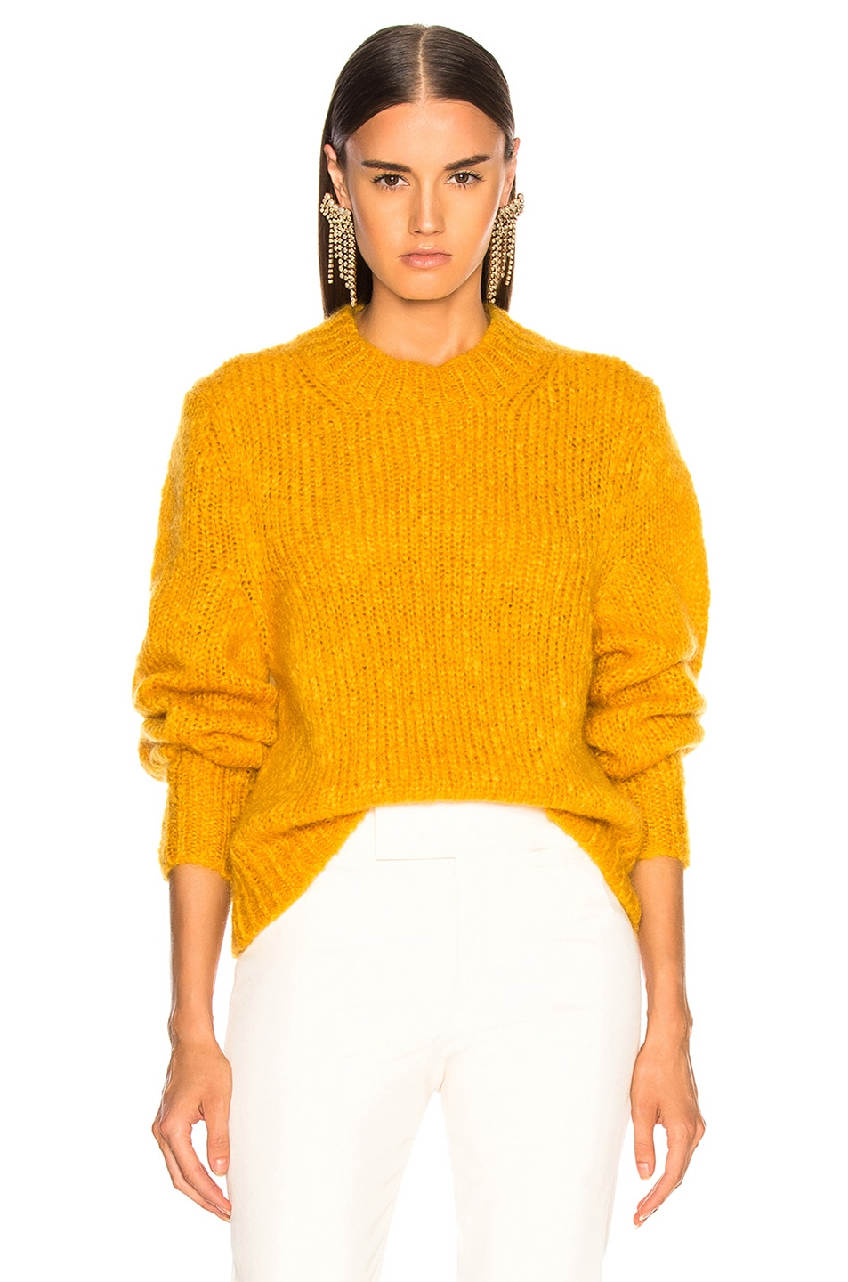 Image 1 of Isabel Marant Ivah Sweater in Yellow