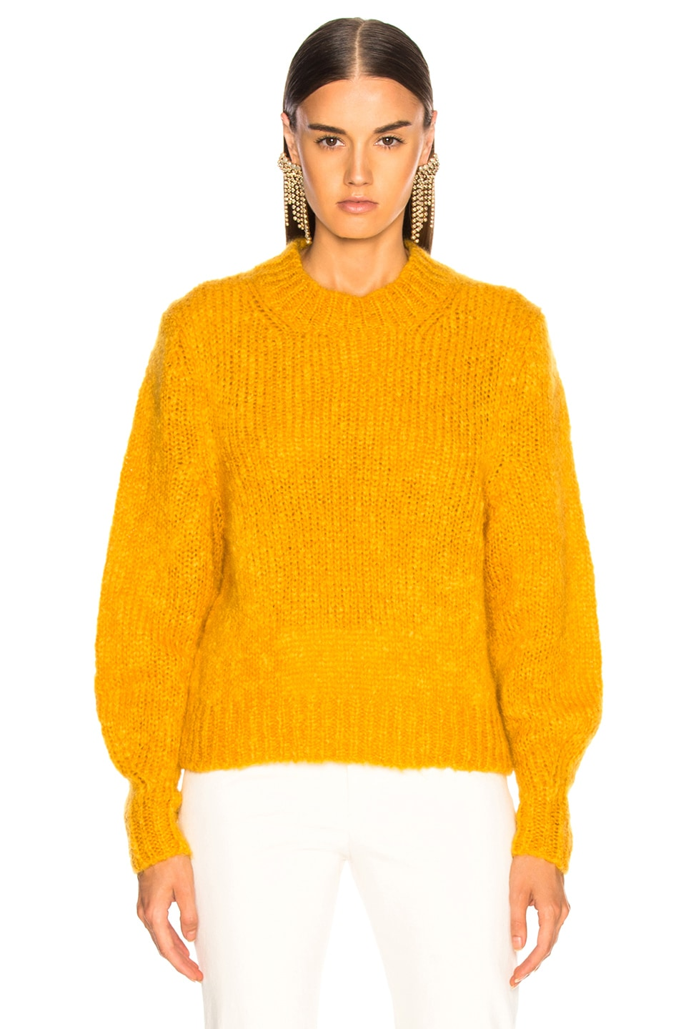 Image 2 of Isabel Marant Ivah Sweater in Yellow