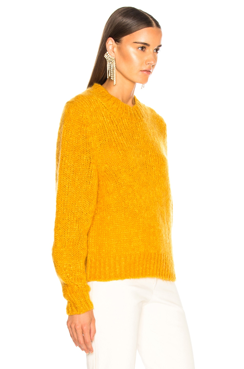 Image 3 of Isabel Marant Ivah Sweater in Yellow