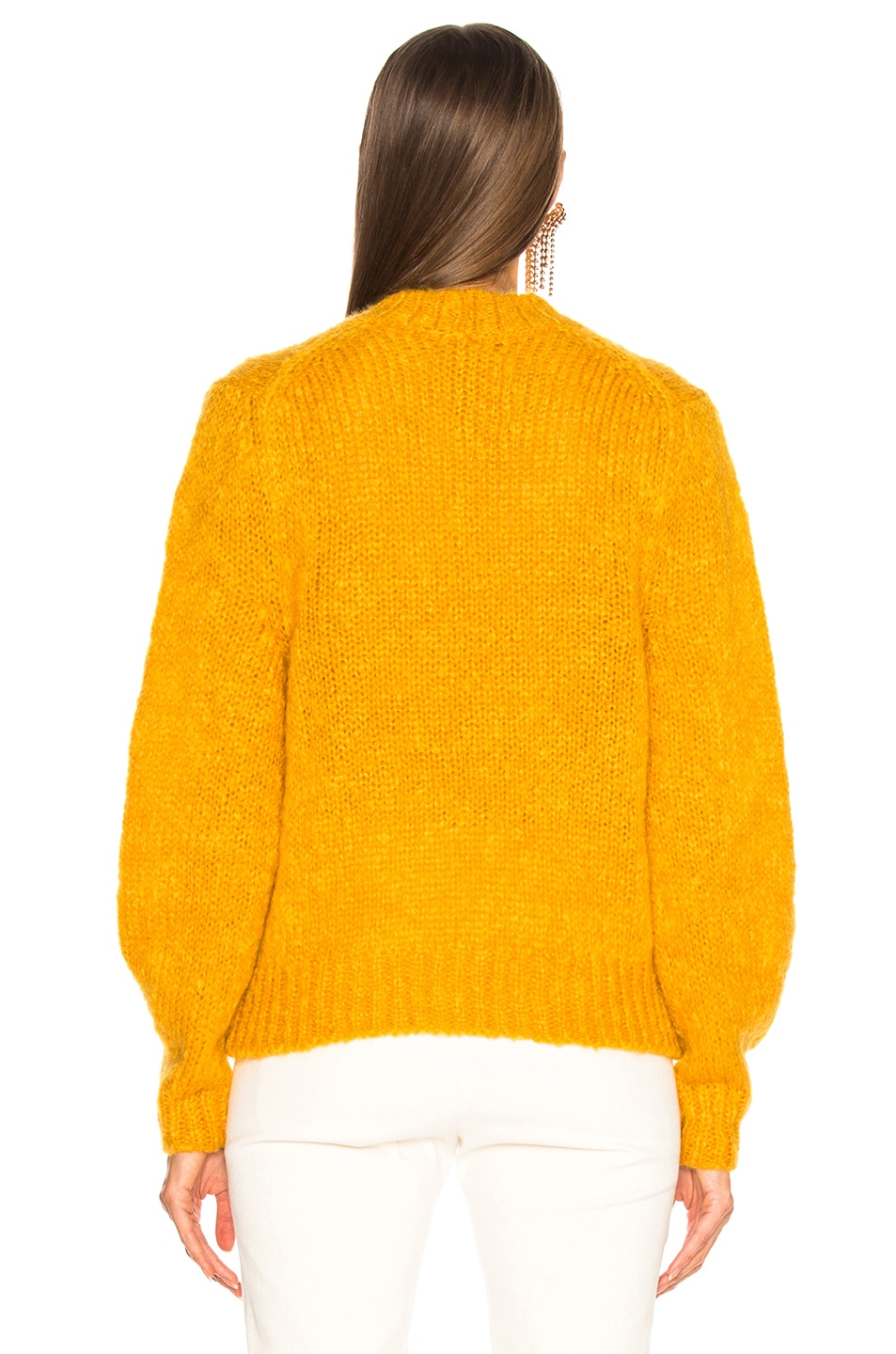 Image 4 of Isabel Marant Ivah Sweater in Yellow