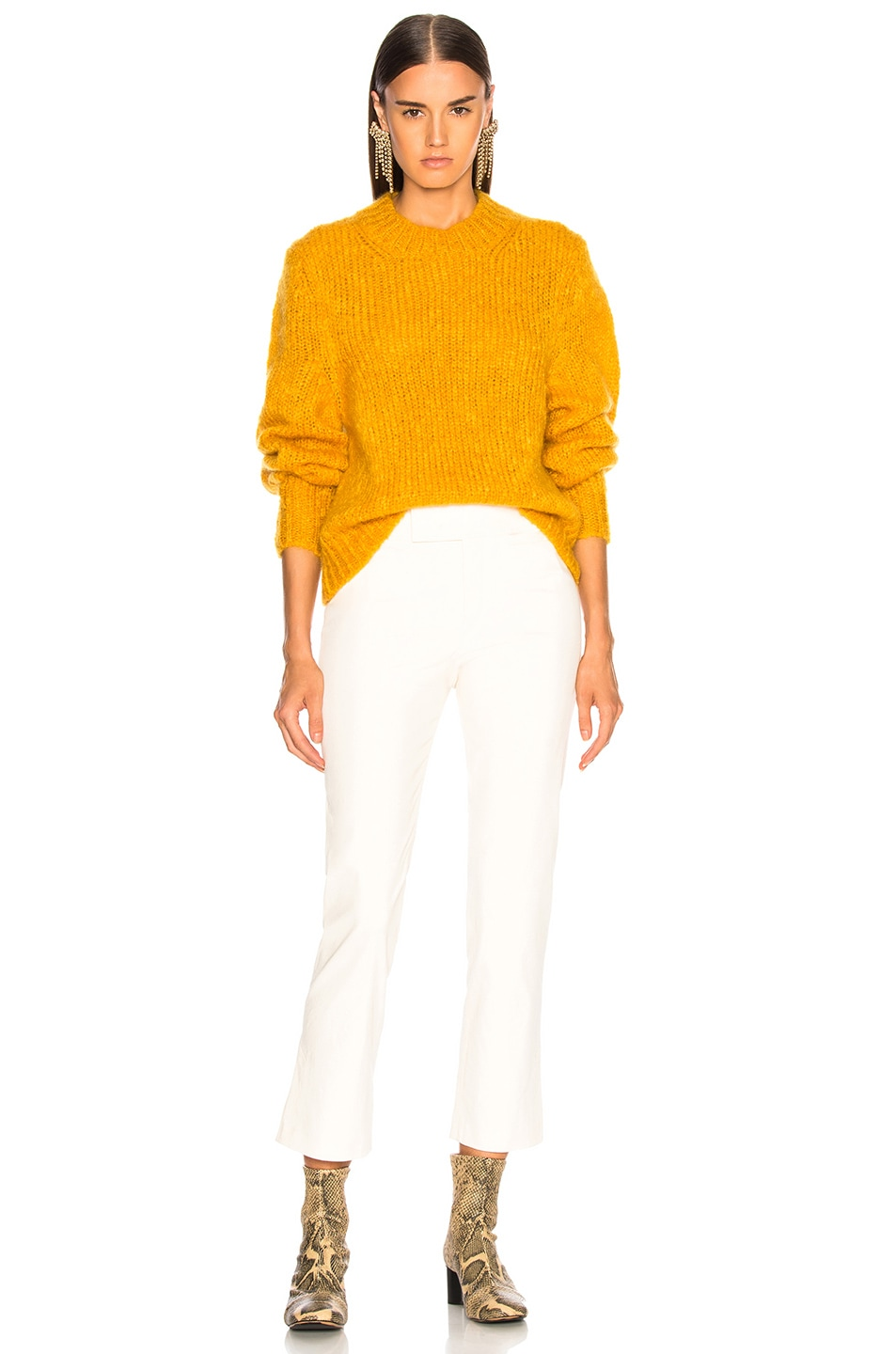Image 5 of Isabel Marant Ivah Sweater in Yellow