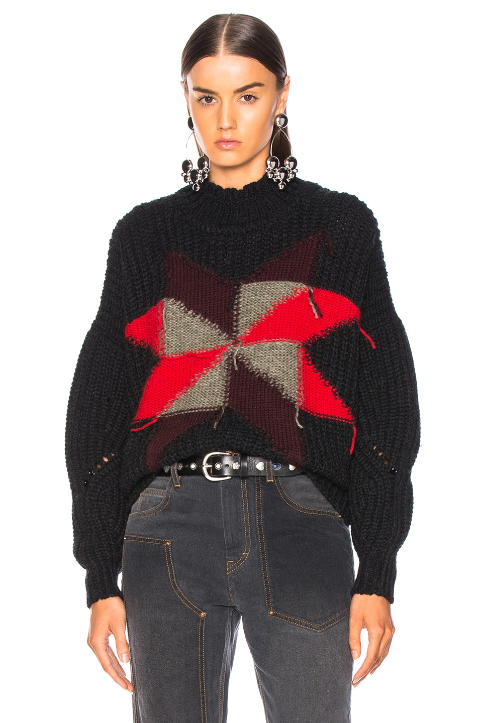 Image 1 of Isabel Marant Hanoi Sweater in Black