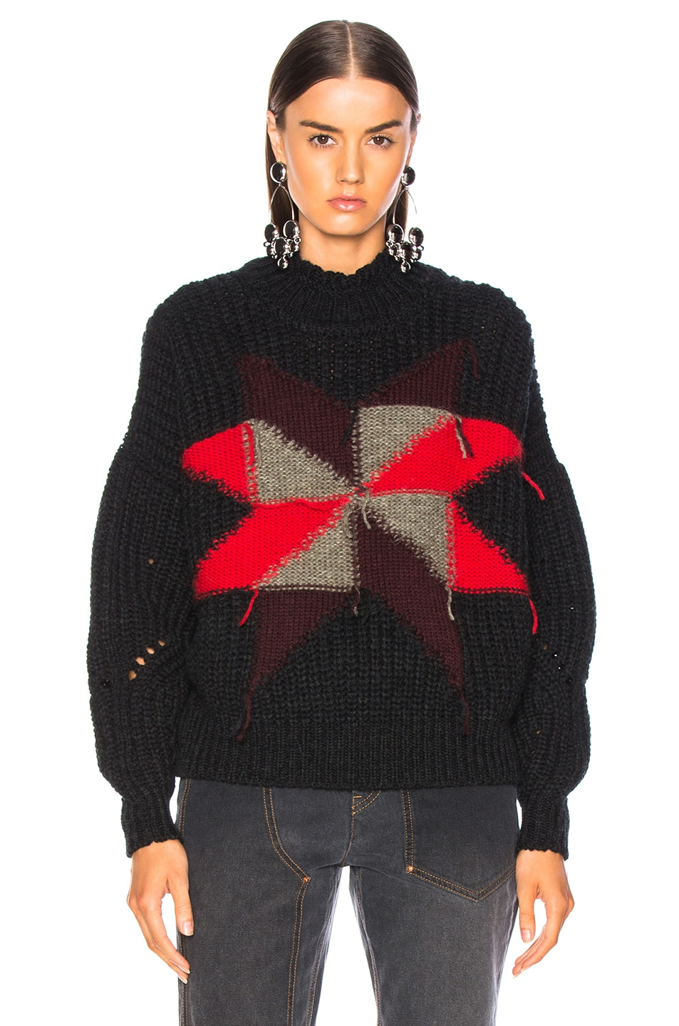 Image 2 of Isabel Marant Hanoi Sweater in Black