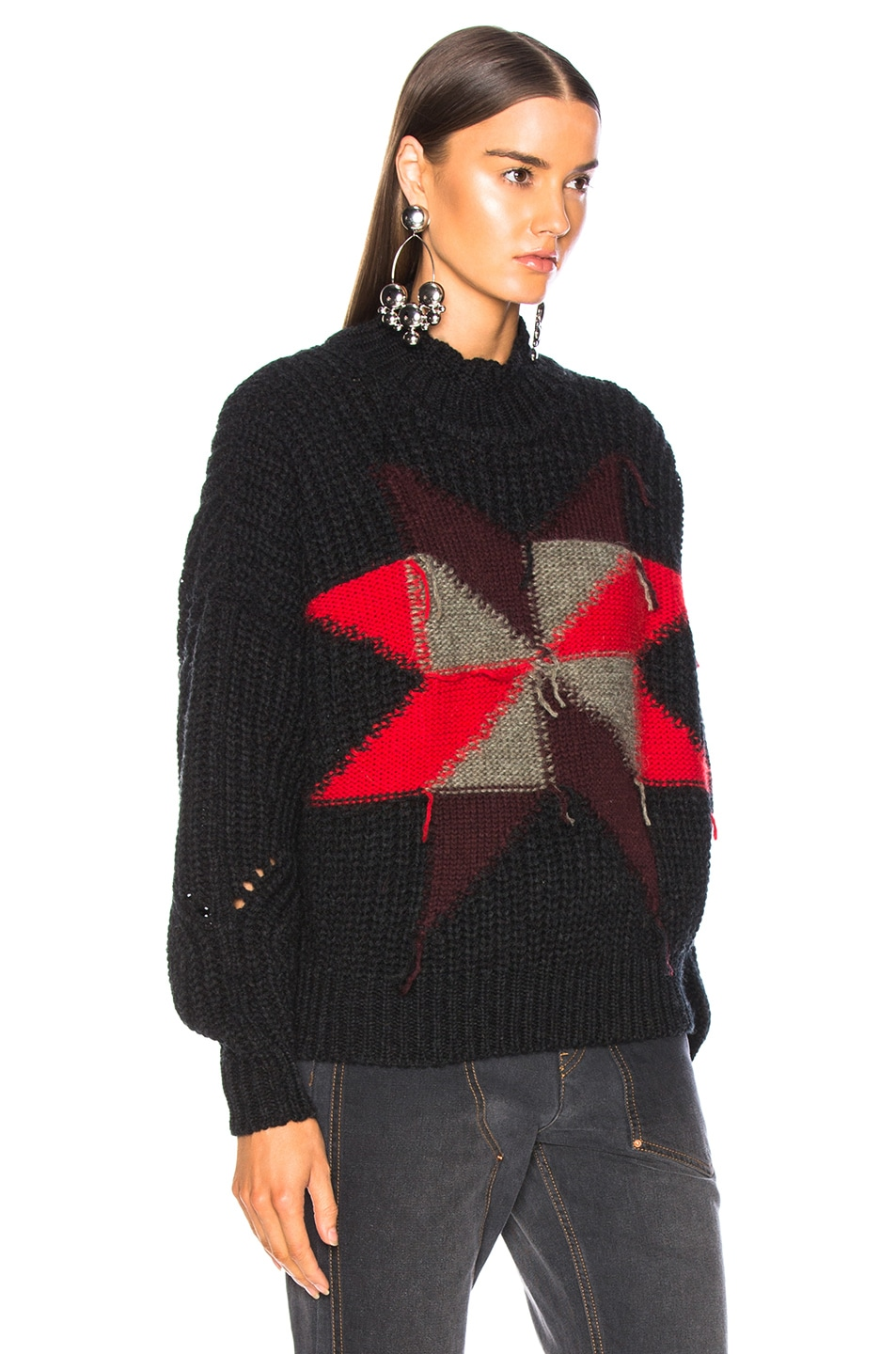 Image 3 of Isabel Marant Hanoi Sweater in Black