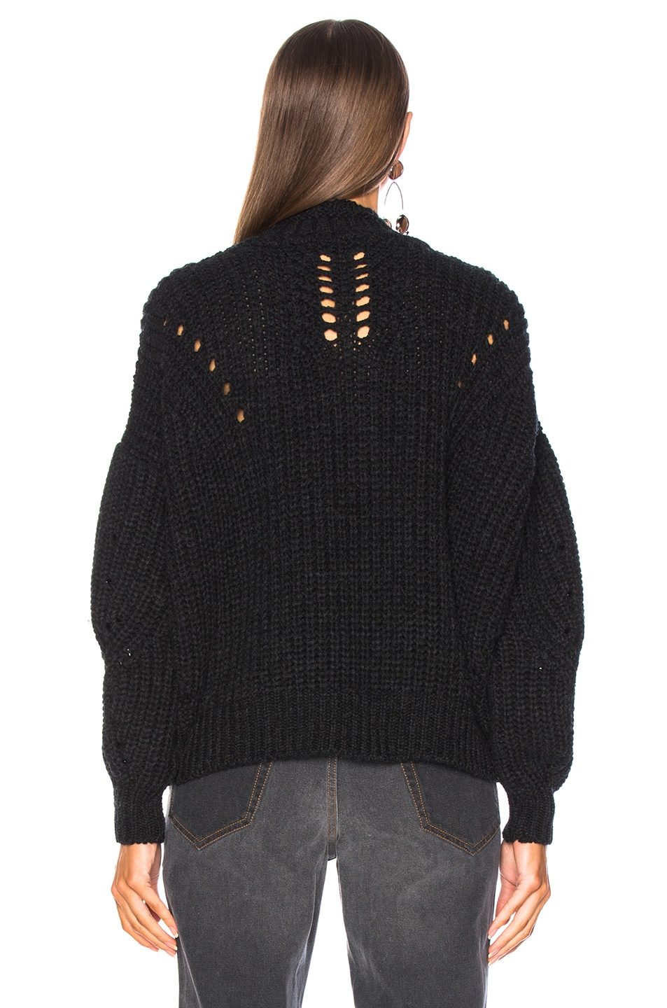 Image 4 of Isabel Marant Hanoi Sweater in Black