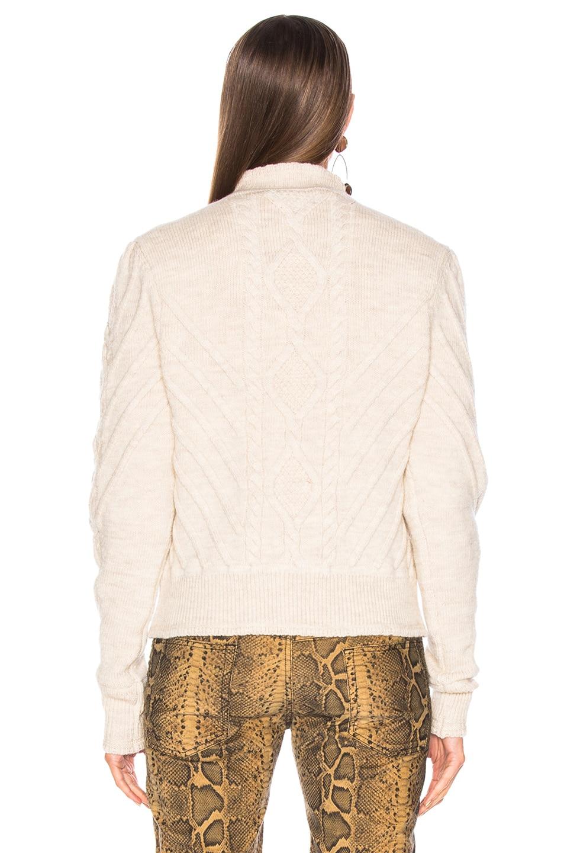 Image 3 of Isabel Marant Brantley Sweater in Ecru