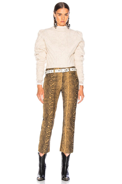Image 4 of Isabel Marant Brantley Sweater in Ecru