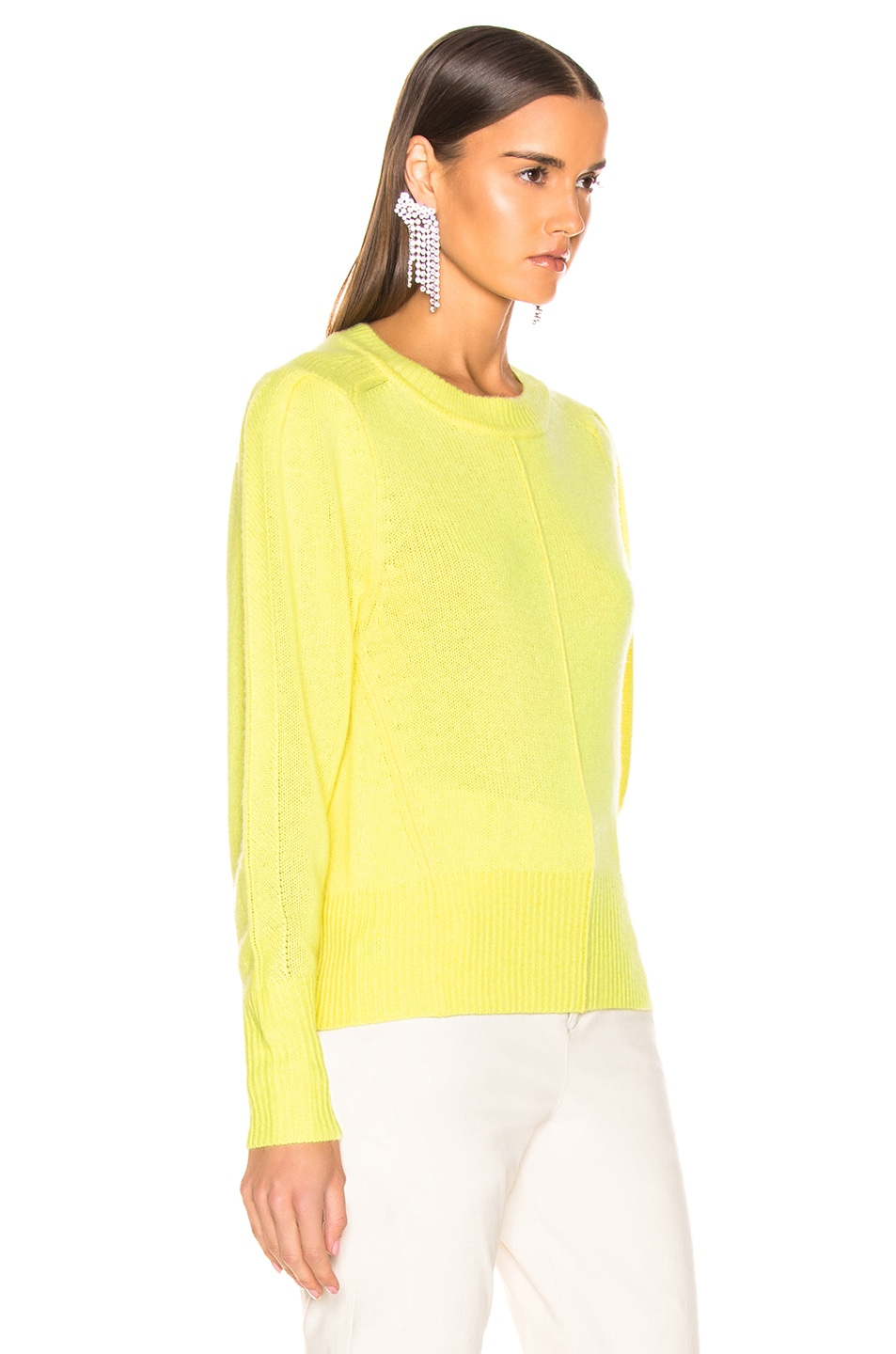 Image 2 of Isabel Marant Conway Sweater in Light Yellow