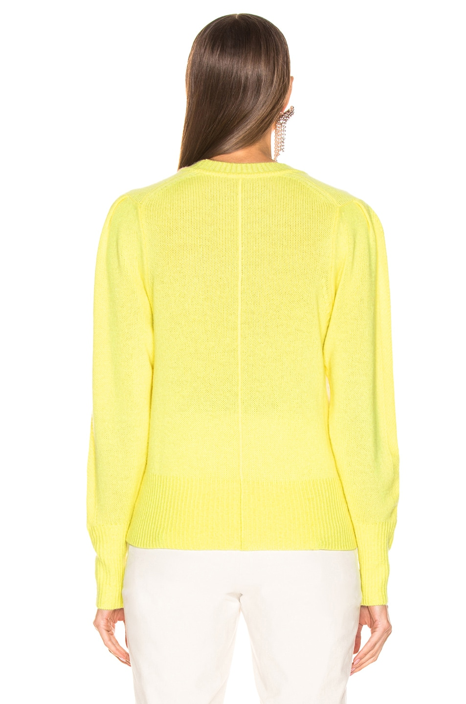 Image 3 of Isabel Marant Conway Sweater in Light Yellow