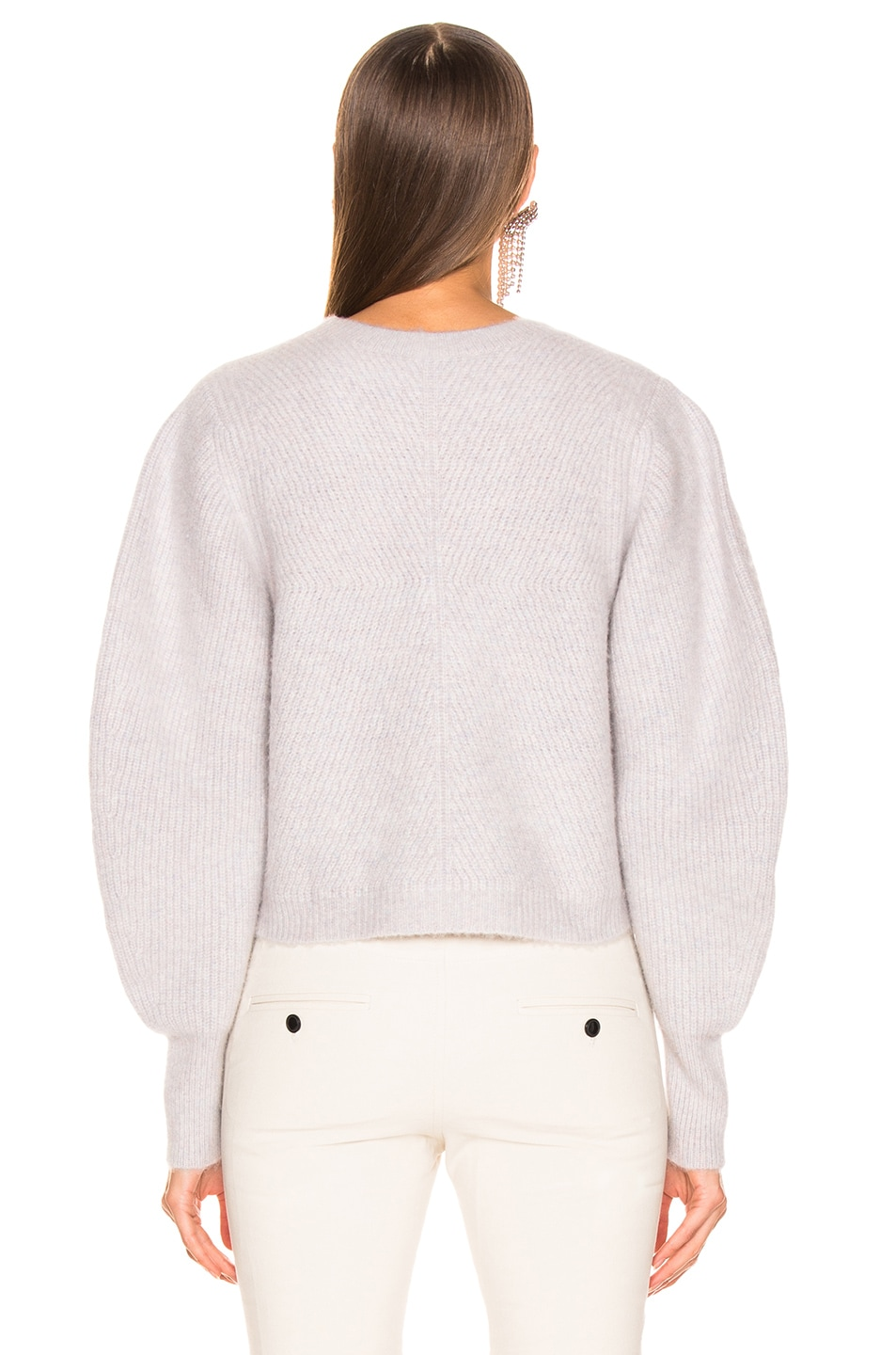 Image 3 of Isabel Marant Swinton Sweater in Greyish Pink