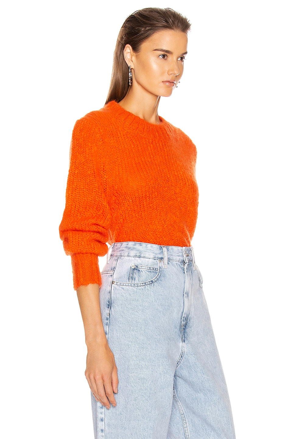 Image 2 of Isabel Marant Ivah Sweater in Poppy Orange