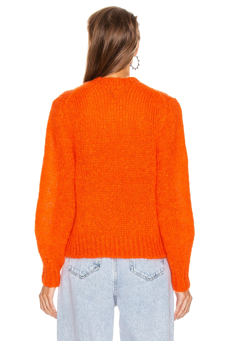 Image 3 of Isabel Marant Ivah Sweater in Poppy Orange