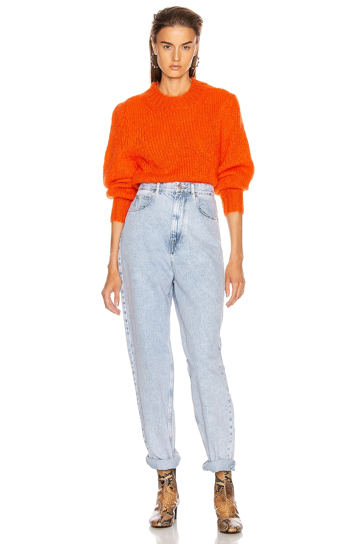 Image 4 of Isabel Marant Ivah Sweater in Poppy Orange