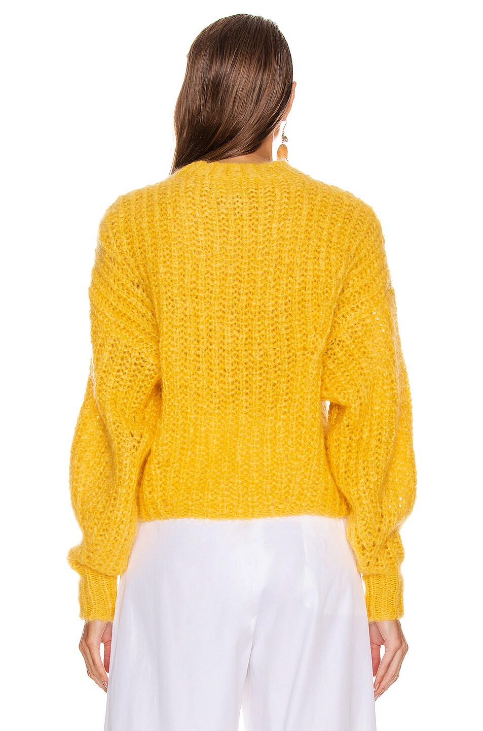 Image 3 of Isabel Marant Inko Sweater in Yellow