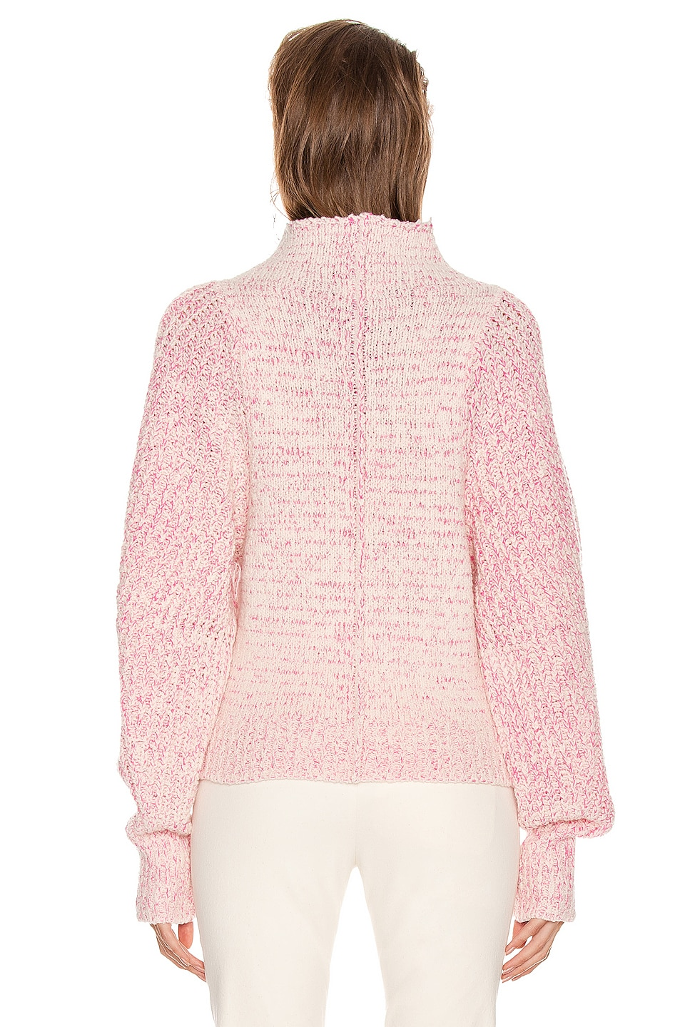 Image 3 of Isabel Marant Edilon Sweater in Neon Pink