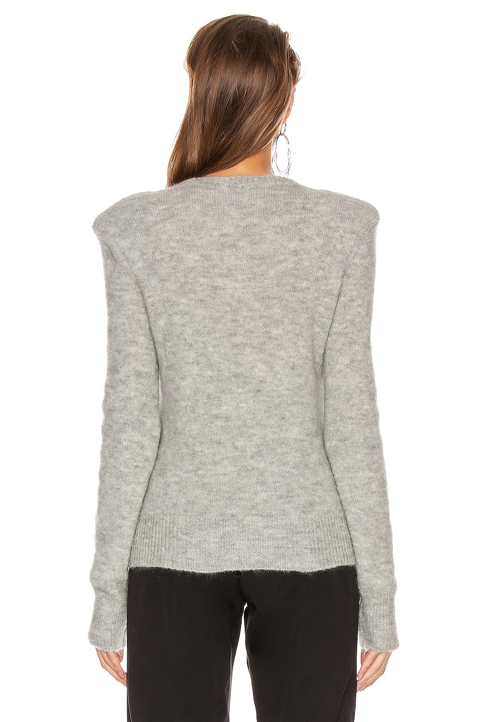 Image 3 of Isabel Marant Flora Sweater in Light Grey