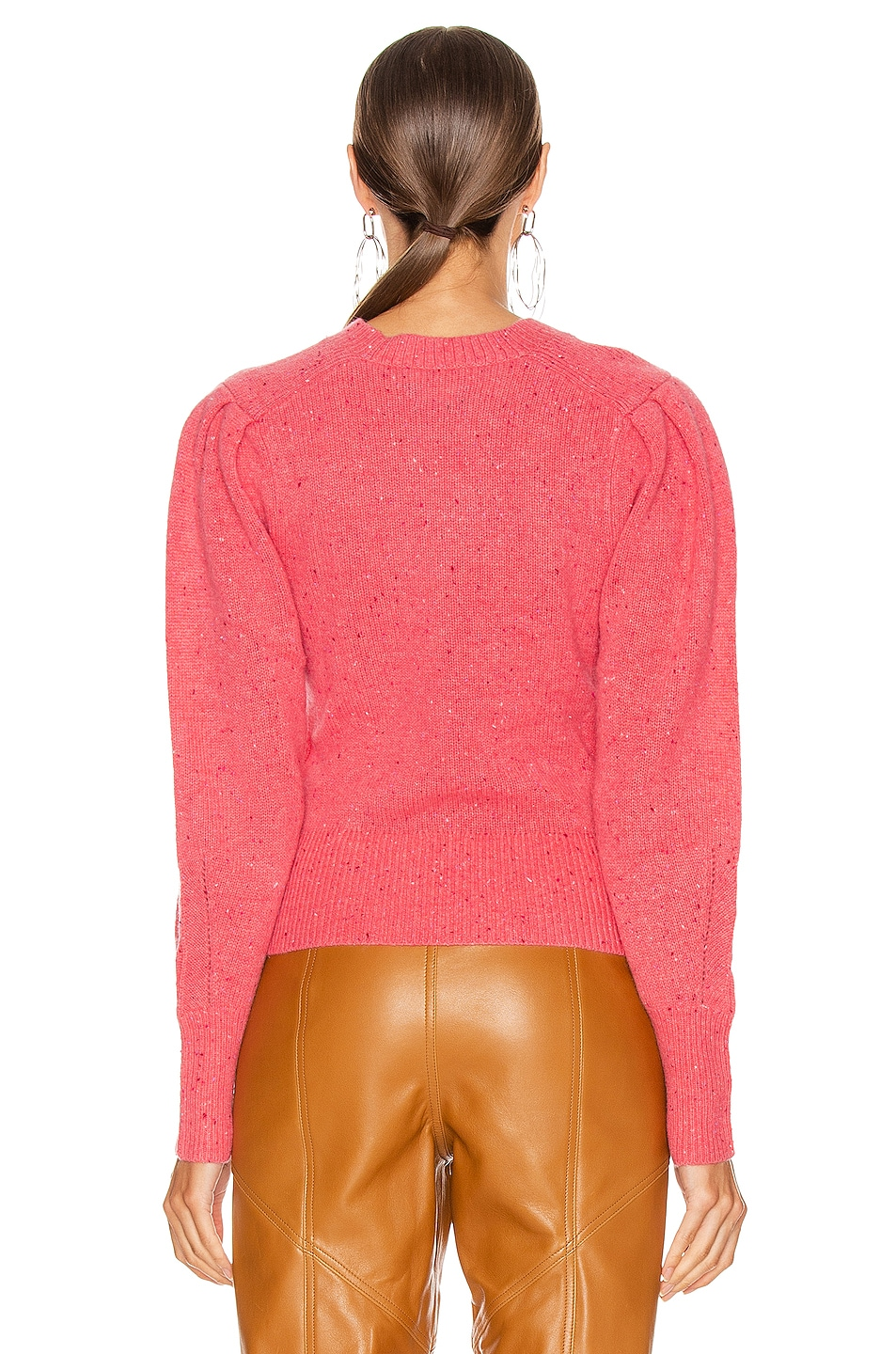 Image 3 of Isabel Marant Colroy Sweater in Candy Pink