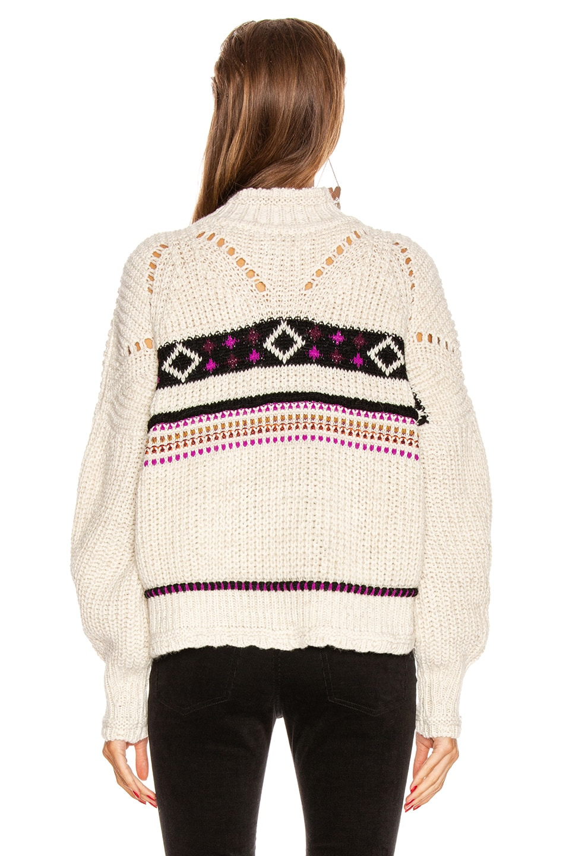 Image 3 of Isabel Marant Caleen Sweater in Ecru