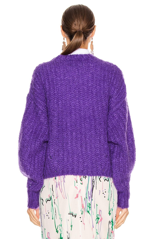 Image 3 of Isabel Marant Inko Sweater in Purple