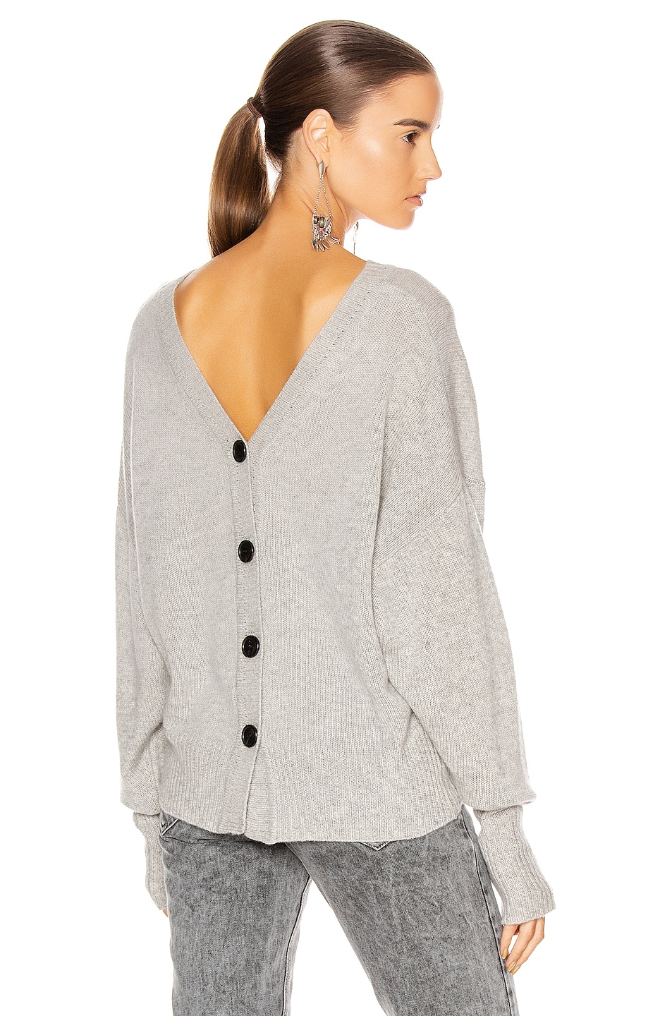 Image 1 of Isabel Marant Caleb Sweater in Grey
