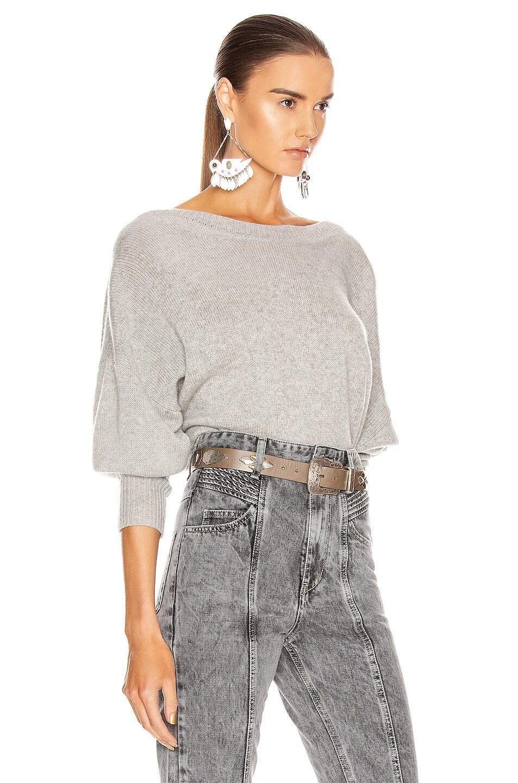 Image 3 of Isabel Marant Caleb Sweater in Grey